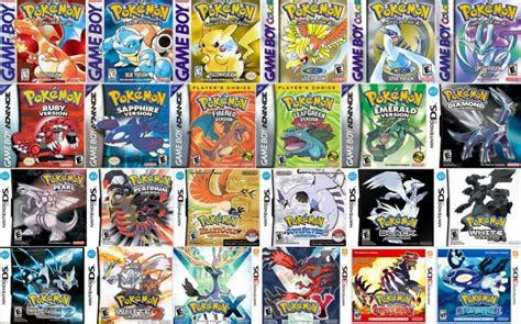 The Evolution Of Pokémon Handheld Games And The Future