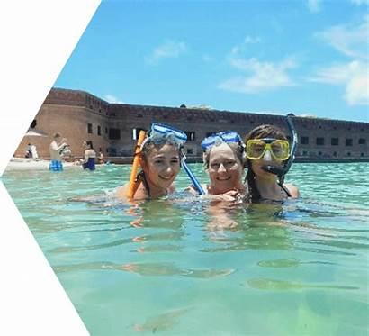 Tortugas Dry Beach Beaches National Park Swim