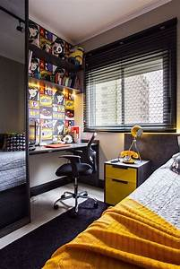 33 best teenage boy room decor ideas and designs for 2018 With teenage boys bedroom interior designs