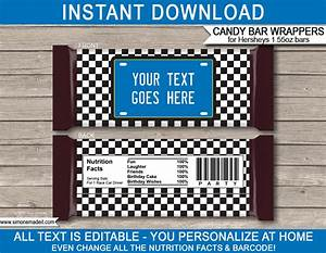 free hershey bar wrapper template blue race car party hershey candy bar wrappers personalized