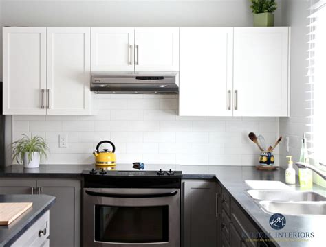 budget friendly kitchen update white gray  gorgeous