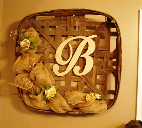 tobacco basket completed my last free wall space has disappeared did it myself tobacco