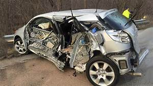 Latest Car Accident Of Toyota Matrix - Road
