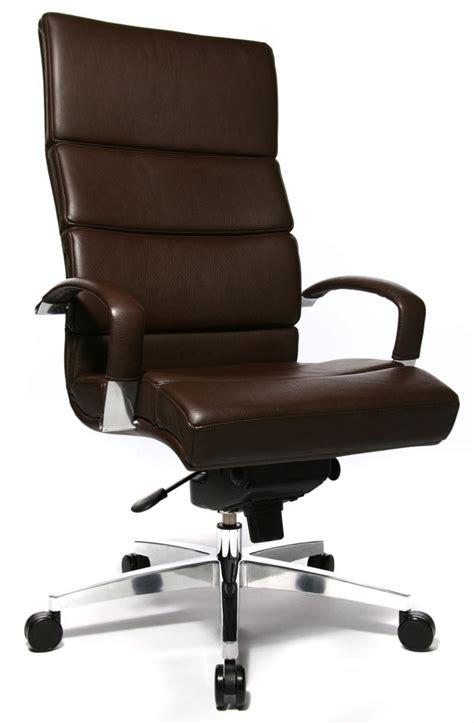 fauteuil de bureau direction en cuir fitness hemau