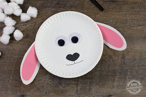 fun  easy paper plate lamb craft  introduce spring