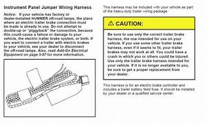 Trailer Brake Wiring - Hummer Forums