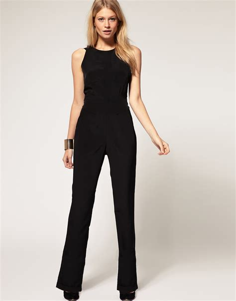 asos jumpsuit asos collection asos exclusive jumpsuit with cross