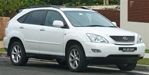 2007-2008 Lexus Rx 350 (gsu35r) Sports Luxury Wagon