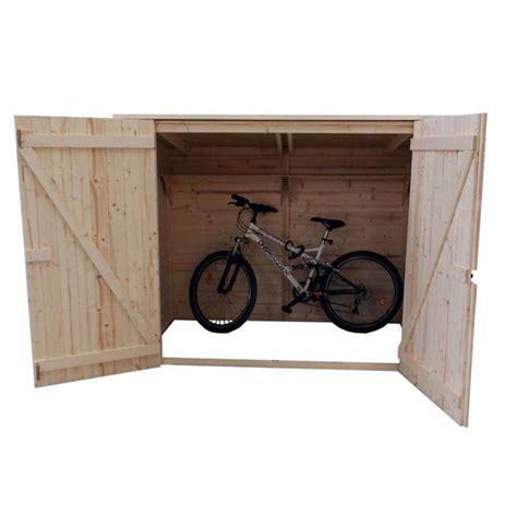 cuisine en palette bois habrita abri range vélos scooters avec porte 2 37