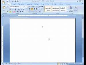 apa formatting microsoft word 2007mp4 youtube With office 2007 apa template