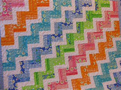 String And Rail Fence Quilts