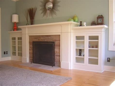 cabinets next to fireplace awesome built in cabinets around fireplace design ideas