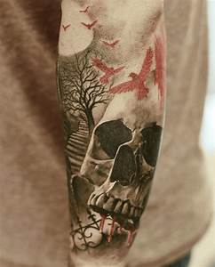 Tattoo Homme Bras : tatouage arbre avant bras homme ~ Melissatoandfro.com Idées de Décoration