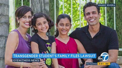 family  transgender student  files discrimination