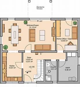 Haus Raumaufteilung Planen : kern haus familienhaus signum plus grundriss erdgeschoss ~ Lizthompson.info Haus und Dekorationen