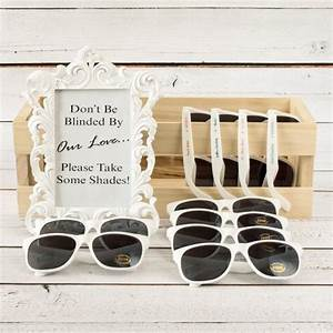 fun wedding favors personalized sunglasses a wedding With sunglasses for wedding favors