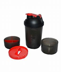 Foolzy Workout Gym Shaker Bottle Cup With 2 Storage Boxes  Buy Foolzy Workout Gym Shaker Bottle