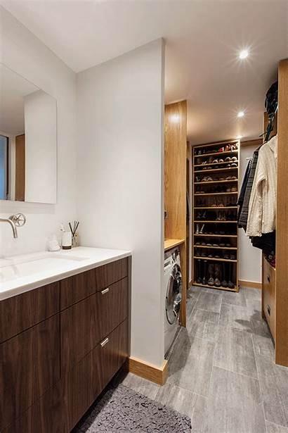 Studio Closet Walk Wardrobe Secret Storage Through