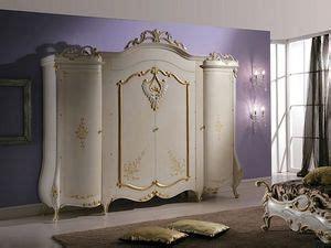 armadio classico  lusso laccato bianco perlato
