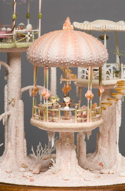 delicate seashell dollhouses real seashells