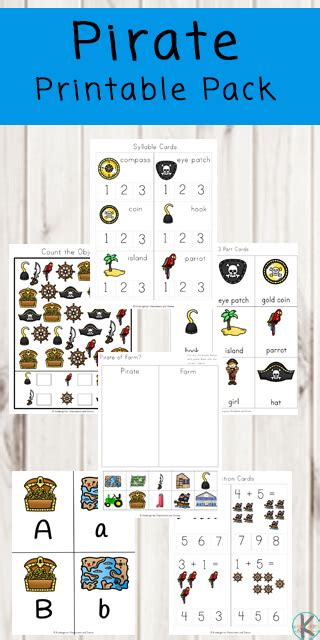 pirate worksheets