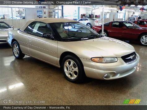2000 Chrysler Sebring Convertible Parts by 2000 Chrysler Sebring Convertible Jxi