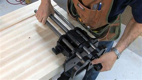 installing  vise finewoodworking