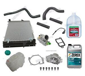 volvo    radiator kit coolant parts