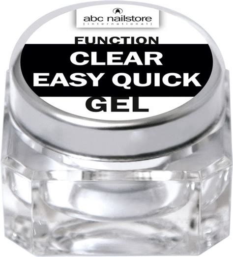 abc nailstore function clear easy quick 15 g Modellage