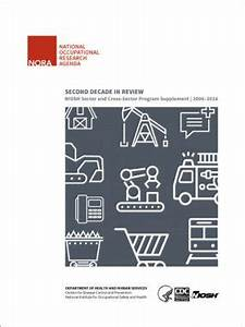National Occupational Research Agenda: NIOSH Sector and ...