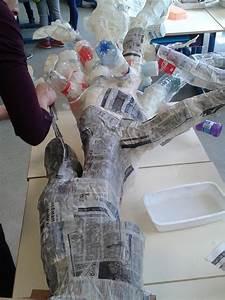 Sculpture En Papier Maché : fabriquer des arbres en papier m ch pour le spectacle de fin d ann e artiste plasticienne ~ Melissatoandfro.com Idées de Décoration