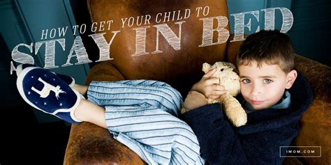 child  stay  bed imom