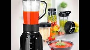 Gourmetmaxx 00772 gourmetmaxx nutrition mixer mit for Mixer für gemüse