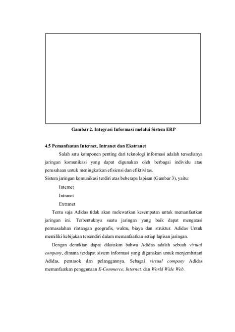 Sistem informasi manajemen adidas