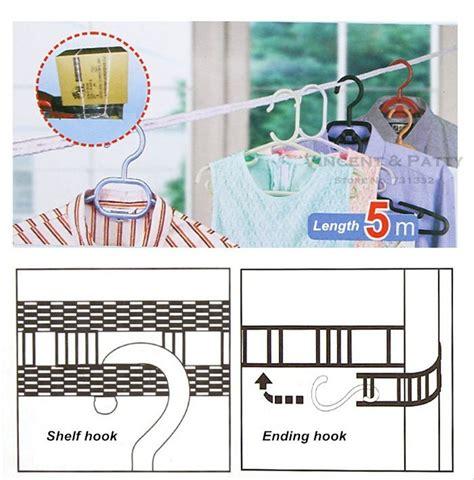 Tali Jemuran 5 Meter Portable jual tali jemuran 5 meter clothes line laundry baju celana