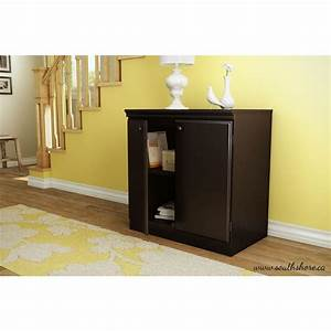 south shore morgan chocolate storage cabinet 7259722 the With what kind of paint to use on kitchen cabinets for truck stickers for back window