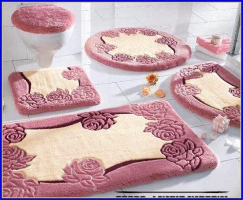 Bathroom Rug Sets Pink   Bathroom : Home Design Ideas #