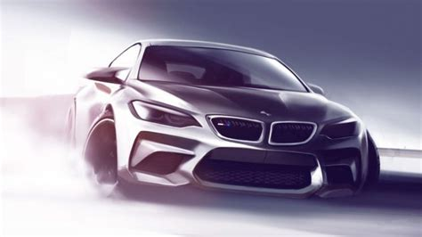 Bmw, Concept Cars, Car, Drawing Hd Wallpapers / Desktop