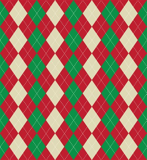 'tis the season for christmas sweaters and pajamas! Christmas argyle pattern - Download Free Vectors, Clipart ...