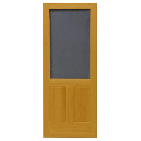 screen doors lowes shop screen tight pioneer cedar naturaltone wood screen
