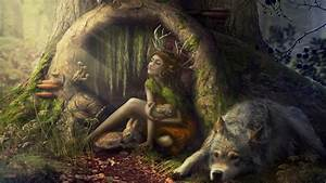 Image Gallery magical forest creatures