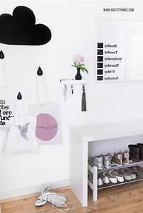 Garderobe Flur Ideen : diy wolken garderobe moderne aufbewahrung im flur nicest things ~ Bigdaddyawards.com Haus und Dekorationen
