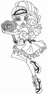 Free Printable Monster High Coloring Pages: June 2014