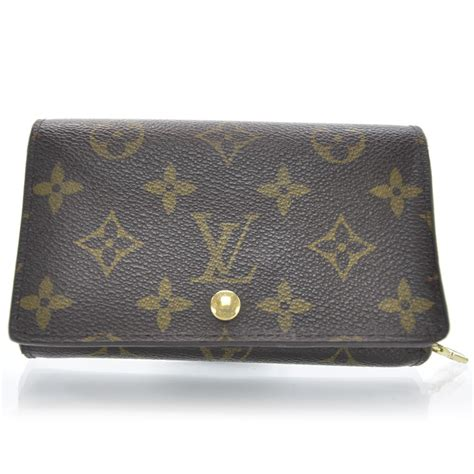 louis vuitton monogram porte monnaie tresor wallet 31517