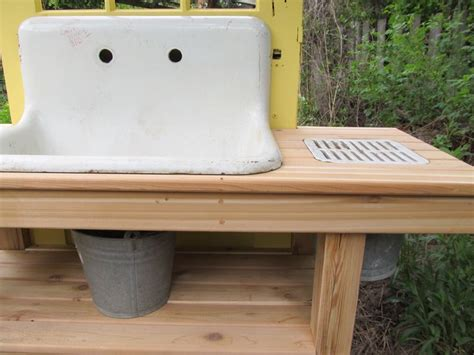 potting bench with sink 132 best images about potting benches and outdoor sinks on