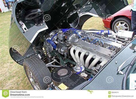 Jaguar E Type V12 Engine Editorial Stock Image. Image Of