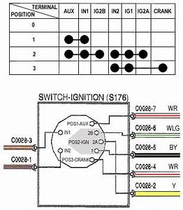 6 Pin Ignition Switch Wiring Diagram
