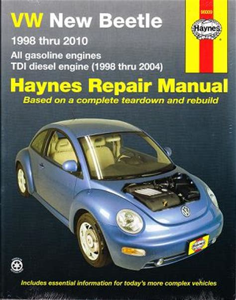 free service manuals online 2010 volkswagen new beetle on board diagnostic system 1998 2010 volkswagen new beetle haynes repair manual