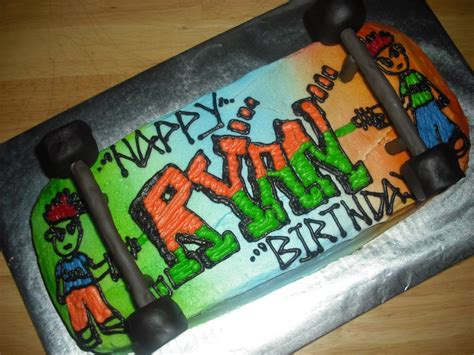 skateboard cakes decoration ideas  birthday cakes