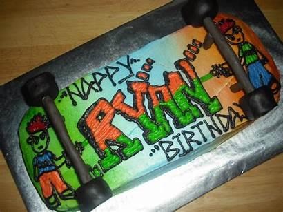 Skateboard Cakes Birthday Cake Decoration Littlebcakes